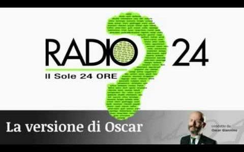 Oscar Giannino (Radio 24) intervista il segretario generale Unadis, Barbara Casagrande