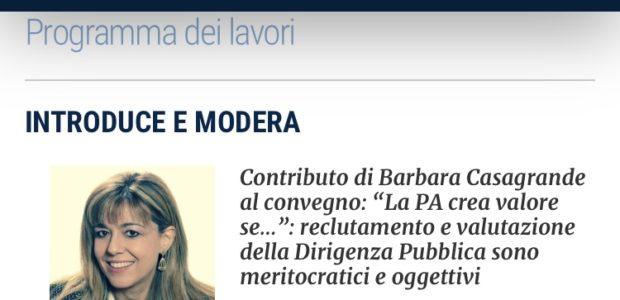 Verso #ForumPa2019: il contributo del segretario generale Barbara Casagrande